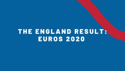 The England Result: Euros 2020